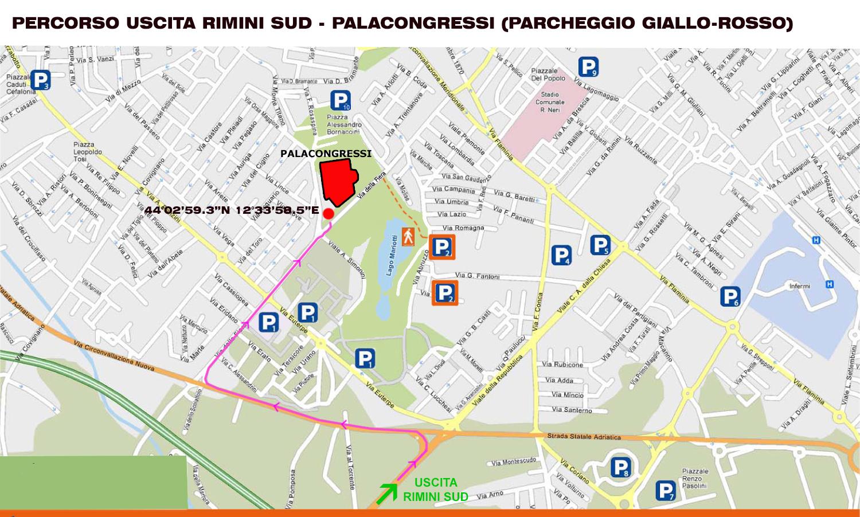 percorso-rimini-sud-palasparcheggio-giallo-rosso