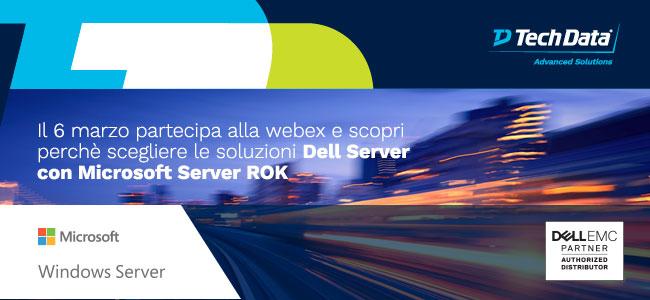 Webinar DELL + Microsoft Win 2019